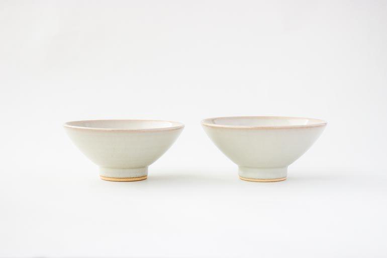 小久慈焼の中平(茶碗)