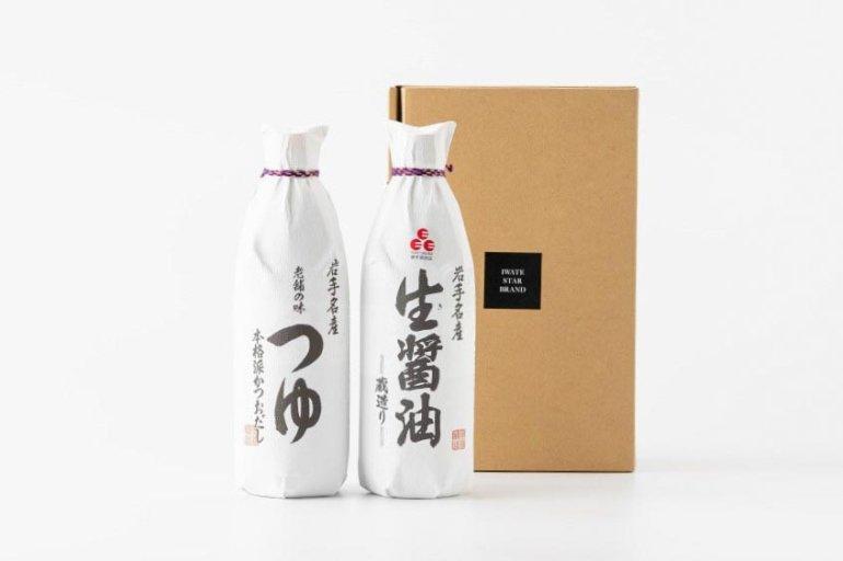 佐々長のつゆ・生醤油セット