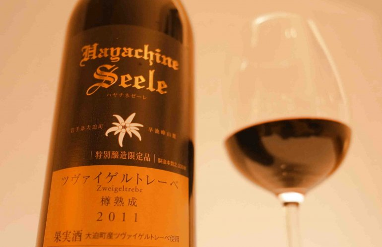 エーデルワイン|ハヤチネゼーレ ツヴァイゲルトレーベ樽熟成2011【赤】