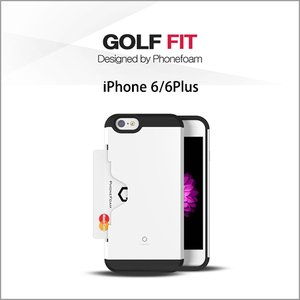 <img class='new_mark_img1' src='//img.shop-pro.jp/img/new/icons1.gif' style='border:none;display:inline;margin:0px;padding:0px;width:auto;' />GOLF FIT for(iPhone6/6Plus) iphone ケース ICカード対応