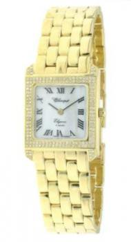 Classique Ladies' Elegance Gold and Diamond Watch