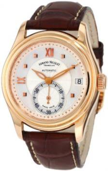 Armand Nicolet Women's 7155A-AN-P915MR8 M03 Classic Automatic Gold Watch