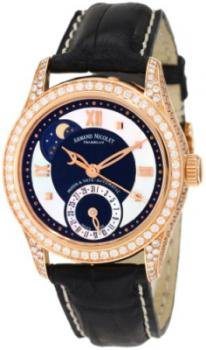 Armand Nicolet Women's 7151V-NN-P915NR8 M03 Classic Automatic Gold with Diamonds Watch