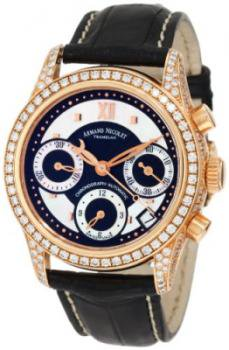 Armand Nicolet Women's 7154V-NN-P915NR8 M03 Classic Automatic Gold with Diamonds Watch