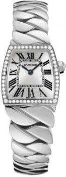 Cartier La Dona Diamond 18kt White Gold Ladies Watch WE60039G