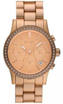 DKNY Women's NY8364 Rose Gold Rose-Gold Quartz Watch with Gold Dial