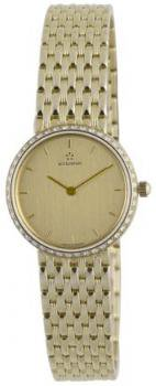 Eterna Watches Women's 5601.71.20.0000 Athena Yellow Gold Diamond Watch