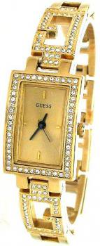 Guess Women's G85457L Gold Gold Tone Stainles-Steel Quartz Watch with Gold Dial