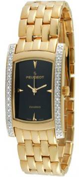 Peugoet Women's 1732G All Gold 1/2 ct Diamond Accented Limited Edition Watch