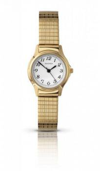 Sekonda Ladies Gold Plated Watch with Expandable Bracelet