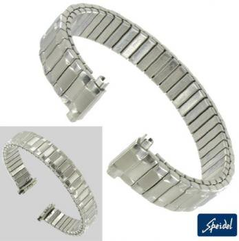 10-13mm Ladies White Gold GP Replacement Watch Band