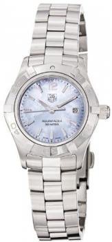 TAG Heuer Women's WAF1417.BA0823 Aquaracer Blue Mother-of-pearl dial Watch