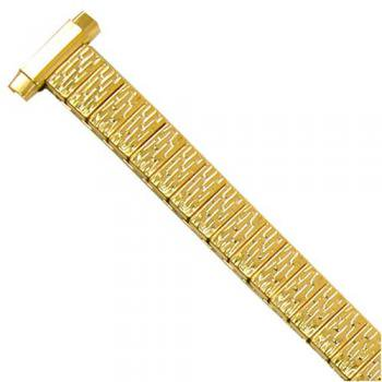 Watch Band Expanion Ladies Gold Plated fits 9mm to 11mm