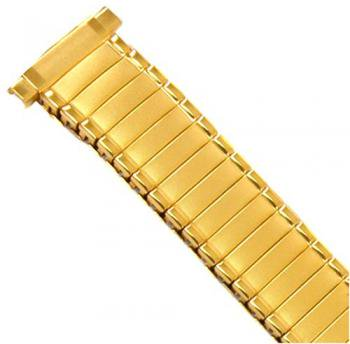 Watch Band Expansion Ladies Gold Plated fits 12mm to 14mm