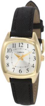 Timex Women's C3C63230 Carriage Gold Cushion Shaped Case Watch