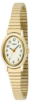 Timex Women's T21872 Cavatina Classic Gold-Tone Expansion Band Watch