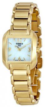 Tissot Women's T02528582 T-Wave Gold-tone Stainless Steel Watch