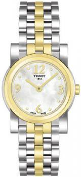 Tissot Women's T0300092211700 Classi-T Goldtone Stainless-Steel Swiss Quartz Watch