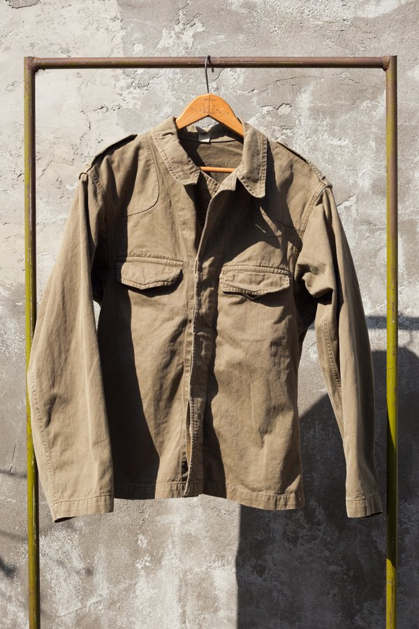 60'S FRENCH ARMY M-47 SHIRTS