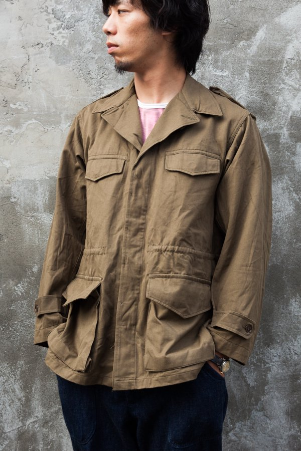 FRENCH ARMY M-47 JACKET(後期)2