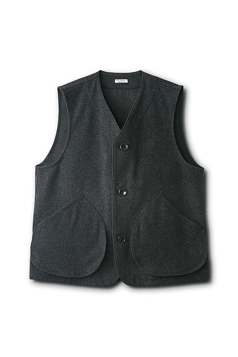 OLD WOOL SPORTS SHIRT VEST
