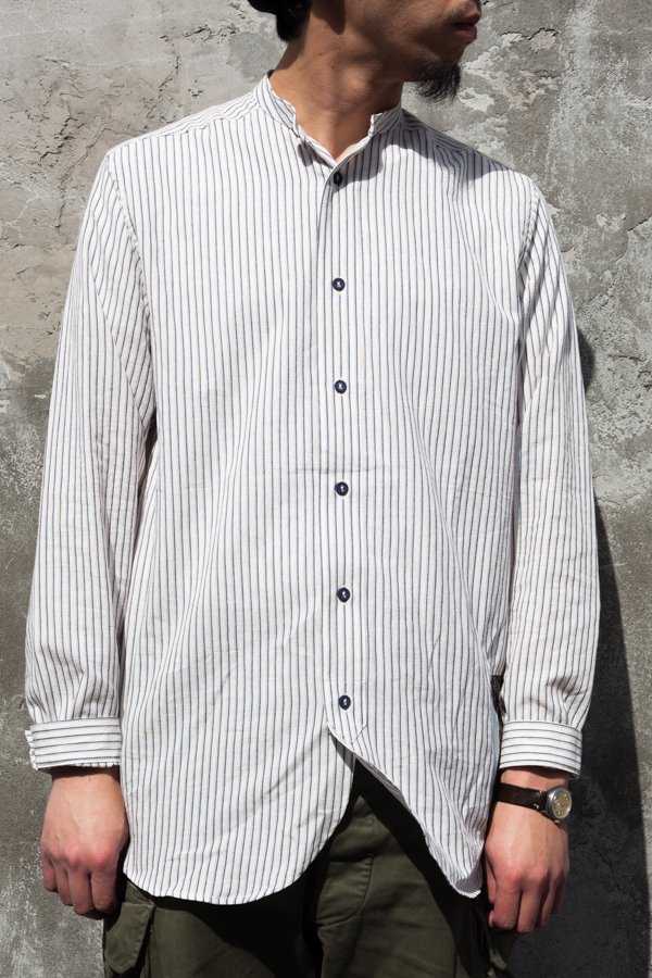 STRIPEDE COTTON OLD SHIRT