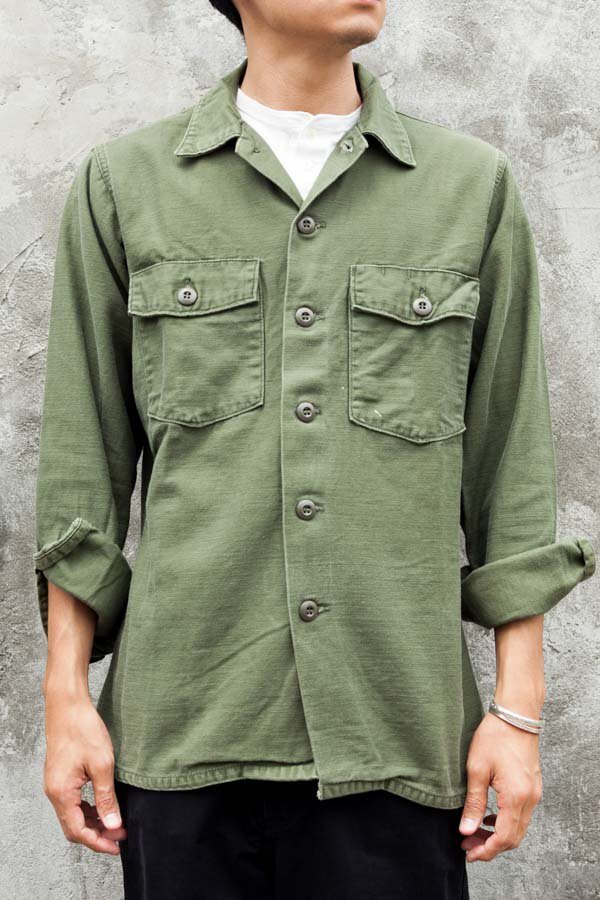 70's US ARMY UTILITY SHIRT