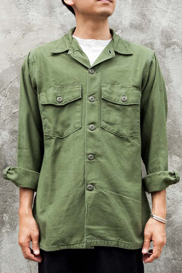 60's US ARMY UTILITY SHIRT