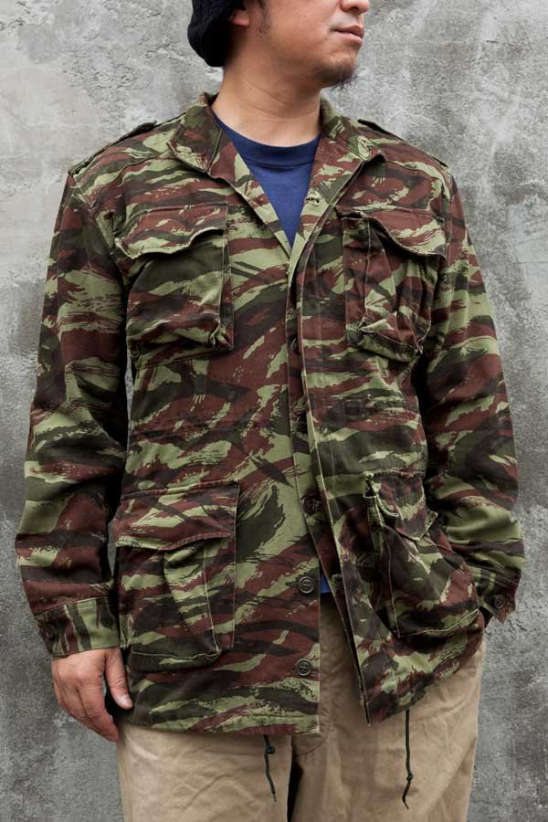 FRENCH LIZARD CAMO JACKET