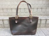 vasco LEATHER TRAVEL TOTEBAG ブラック