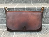 vasco LEATHER 3WAY CLUTCH BAG ブラウン