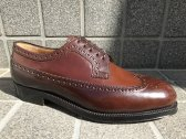 Enzo Bonafe  long wing tip No4 cordovan