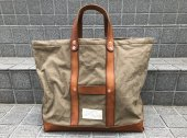 <img class='new_mark_img1' src='https://img.shop-pro.jp/img/new/icons14.gif' style='border:none;display:inline;margin:0px;padding:0px;width:auto;' />vasco CANVAS×LEATHER TOOL BAG -LARGE OLIVE DRAB