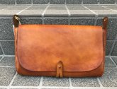 vasco LEATHER 3WAY CLUTCH BAG マスタードキャメル