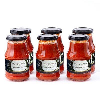 【与謝野モダン】フレッシュバジルとトマトのパスタソース
