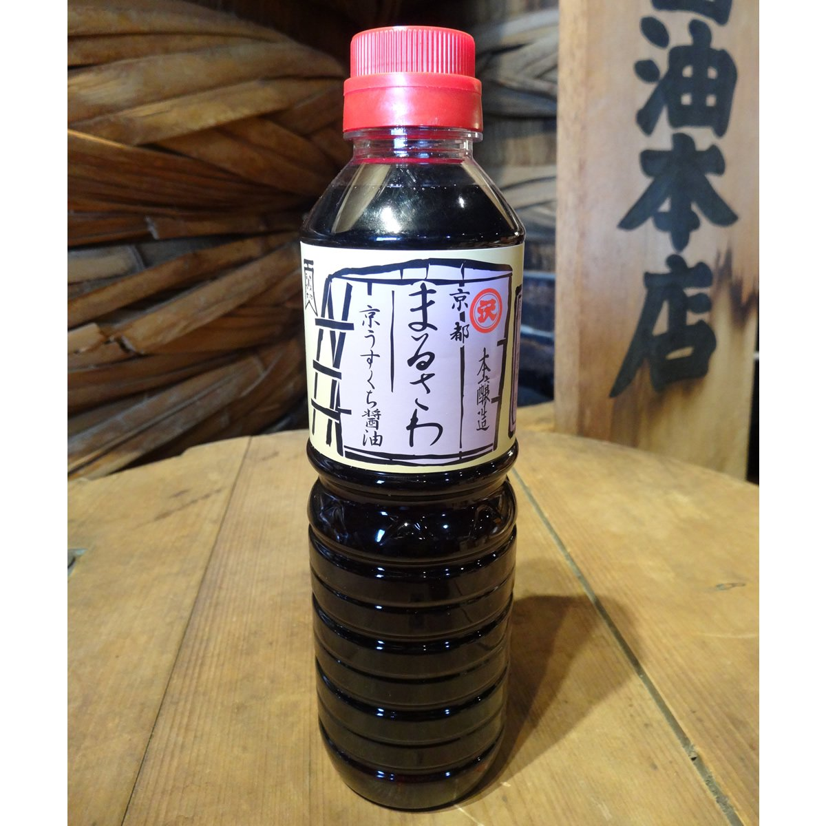 【澤井醤油本店】京うすくち醤油(本醸造)・500ml