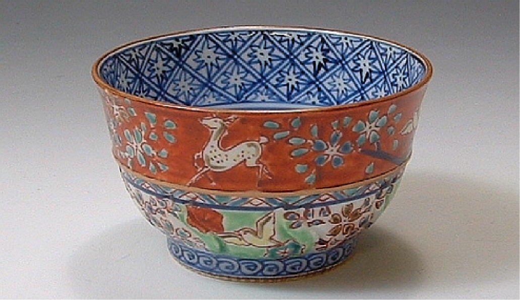 【京焼・清水焼 くまがい】正倉院(しょうそういん)-お茶呑茶碗-窯名「壹楽」