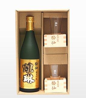 酔仙のすっきりもっきりセット 純米吟醸 煌琳720ml