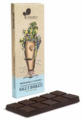 塩とバジル70%チョコレート (SALE E BASILICO)