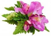 パープル(紫) アレンジ ヘアクリップ No.1088
