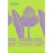 TUTUVI雑貨その他 TUTUVI A4サイズ クリアファイル トーチジンジャー ライム