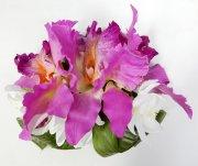パープル(紫) アレンジ ヘアクリップ No.1120