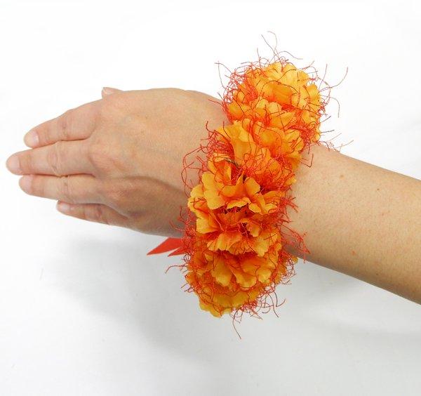 アリイブレスレット オレンジ【画像2】
