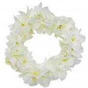 フラダンス用品 色で選びたい ニューオーキッドヘッドバンド ホワイト 白