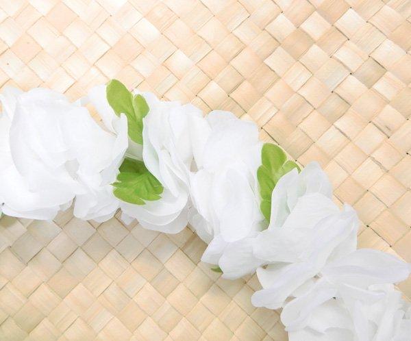 フラワーズレイ ホワイト 白【画像2】