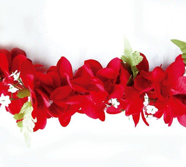 Eプルメリアレイ+Eプルメリアヘアクリップセット レッド  【画像3】