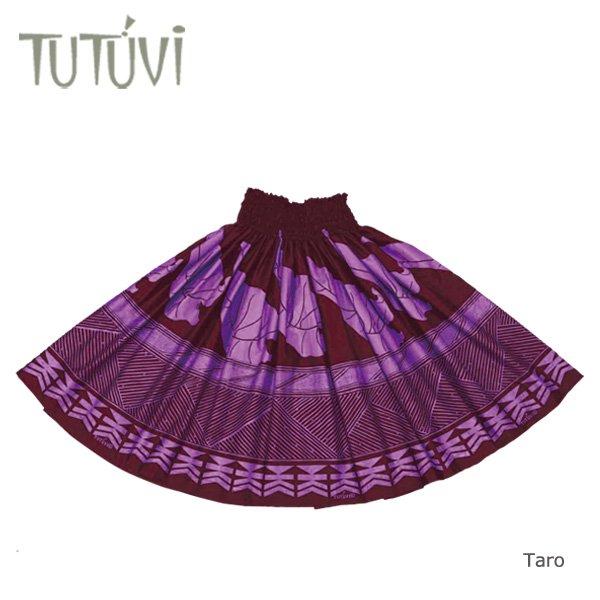 TUTUVIパウ(柄:タロ/色:マルーン・オーキッド)【画像2】