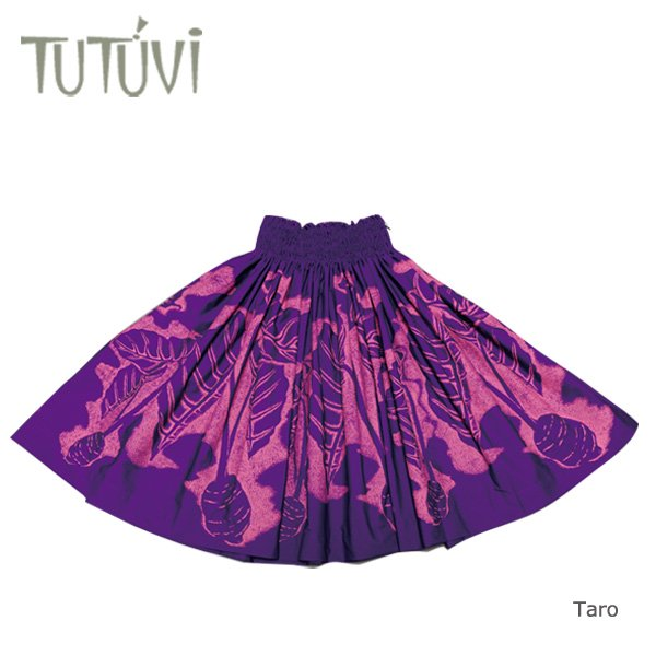 TUTUVIパウ(柄:タロ/色:ダークパープル・ピンク)【画像2】