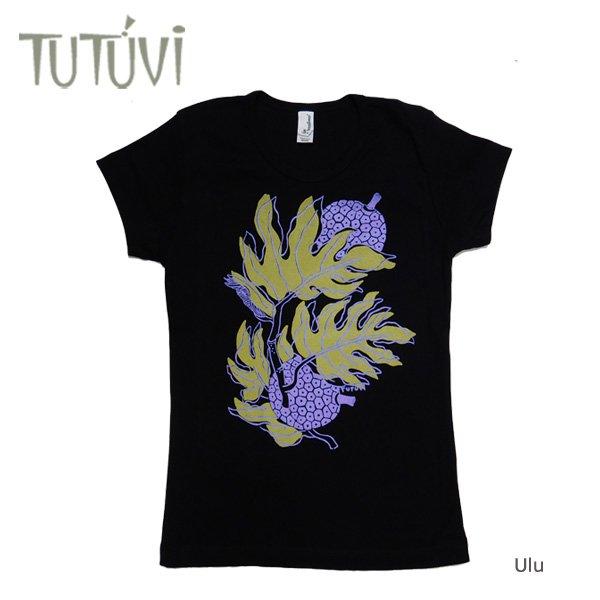 TUTUVI Tシャツ(柄:ウル 色:ブラック)【画像2】
