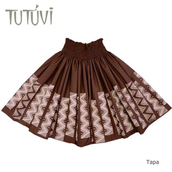 TUTUVIパウ(柄:タパ/色:ブラウン・ベージュアイボリー)【画像3】